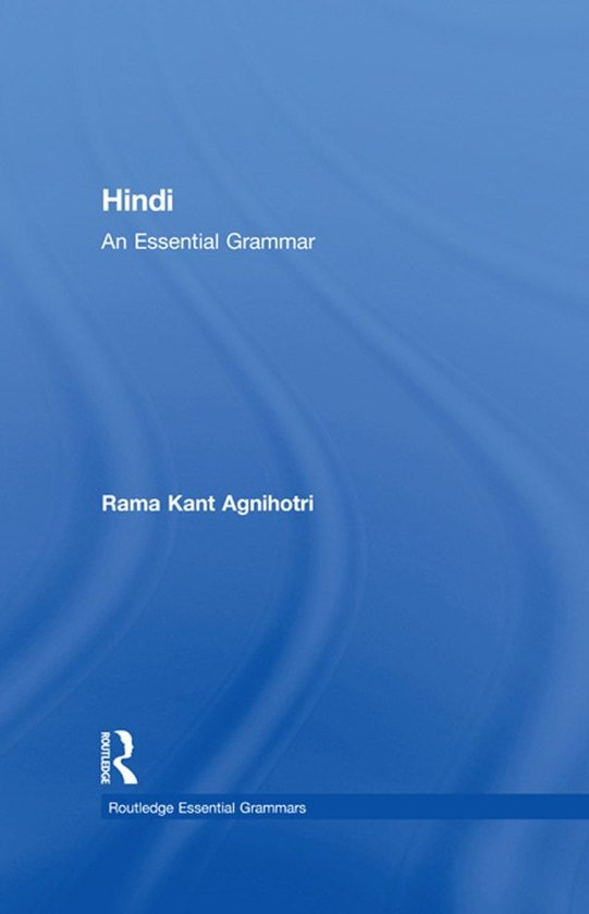 modern hindi grammar