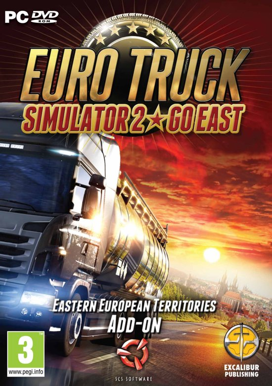 Euro Truck Simulator 2 - Go East add-on - Windows / Mac - Windows / MAC