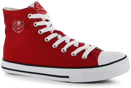 Dunlop Canvas HighTop Red