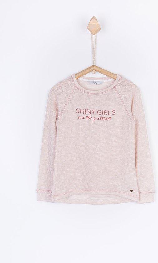 Tiffosi-meisje-shirt/sweater Martie-kleur: roze met glitter-maat 104