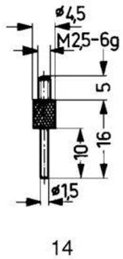 Tastpunt HM 14/1,5mm Käfer