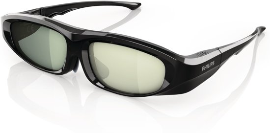 68c2136a7ceaff Philips PTA518 - 3D bril actief - Zwart
