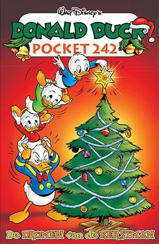Boek cover Donald  Duck Pocket 242 - De dromen van de kerstman +KAARTSPEL HARTEN van Disney (Onbekend)