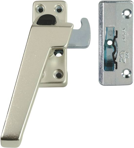 AXA 3318 Raamsluiting - 3318-41-92/E - draairichting 4 - Aluminium F2