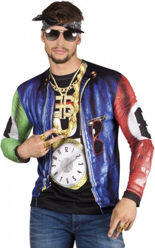 Shirt met rapper opdruk Xl
