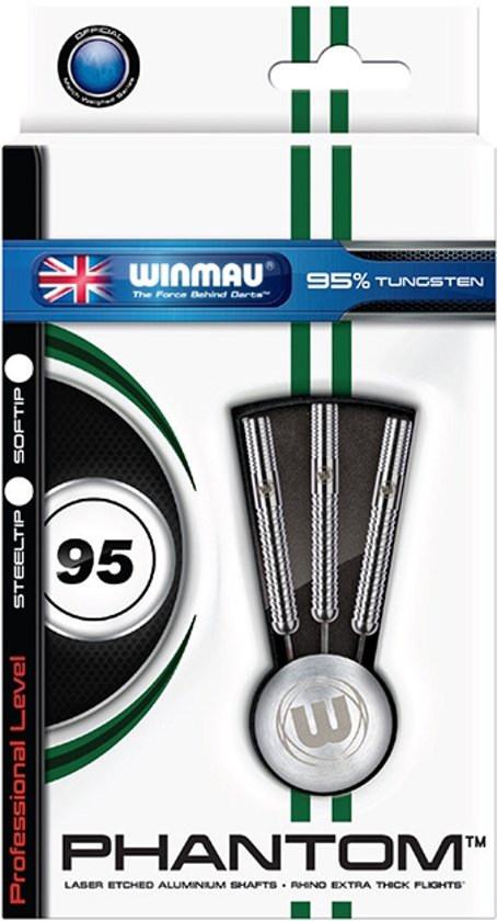 Darts Winmau Phantom 95% Tungsten 24 gram