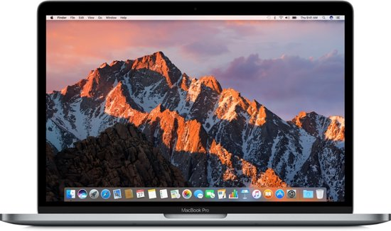 Apple MacBook Pro (2017) Touch Bar - 15 Inch - 256 GB - Spacegrijs / Azerty