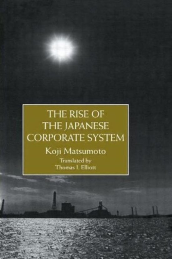 Rise Of The Japanese Corporate S