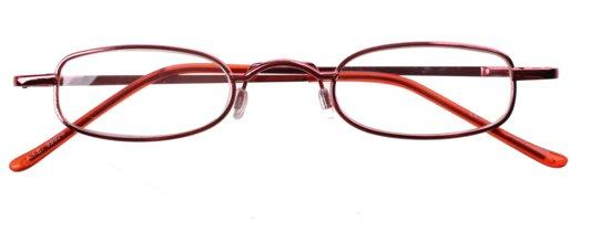 Dunlop Leesbril Rood Unisex Sterkte +2.00