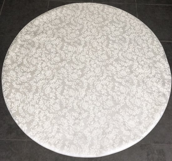 Palace Fashion Tafelzeil - Rond 160 cm - Design - Silver White