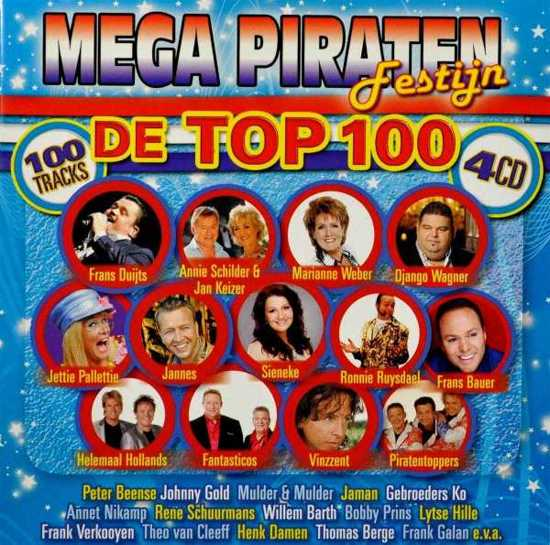 Mega Piraten Festijn - De Top 100
