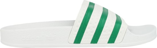 adidas originals slippers groen