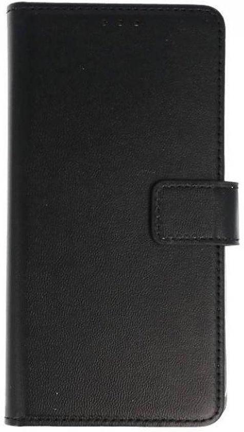 Huawei Y6 2018 Basis bookcase zwart hoesje