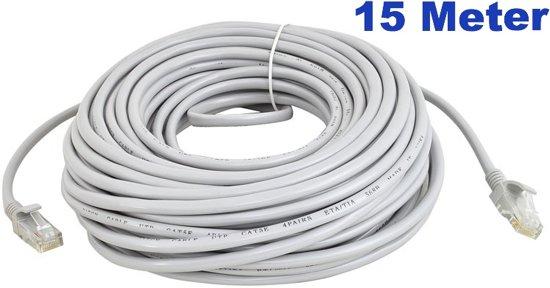 Voorkeur bol.com   Netwerkkabel 15 meter / LAN Kabel / ISDN DSL STP UTP XF09