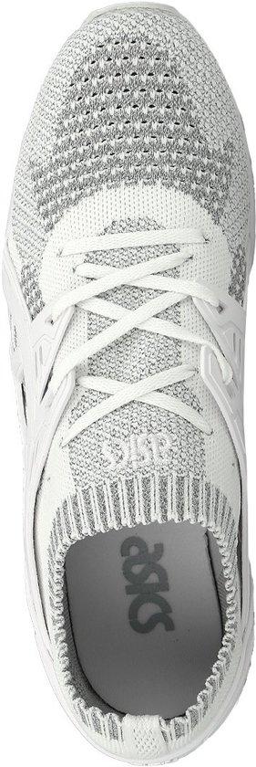 Sneakers Knit Gel 40 Heren Trainer Kayano 5 Asics grijs Maat Wit 5qIwd1qpx