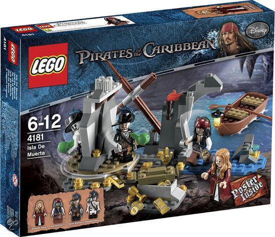 LEGO Pirates of the Caribbean Eiland van de Dood - 4181