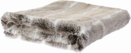 Riverdale comfy plaid 120x150 cm grijs wit for Comfy kussen