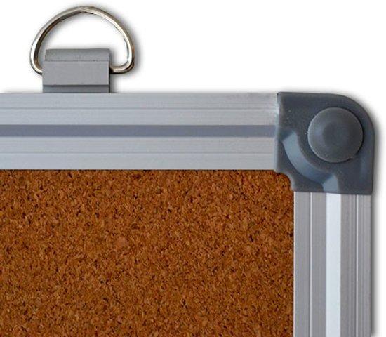 Lijst 30 X 45.Bol Com Prikbord Kurk Aluminium Lijst 30 X 45 Cm