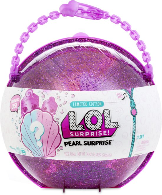 L.O.L. Surprise bal Pearl Surprise - Style 2 Paars
