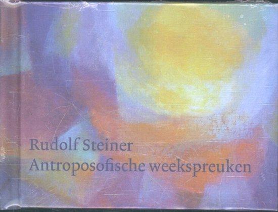 Boek cover Antroposofische weekspreuken van Rudolf Steiner (Hardcover)