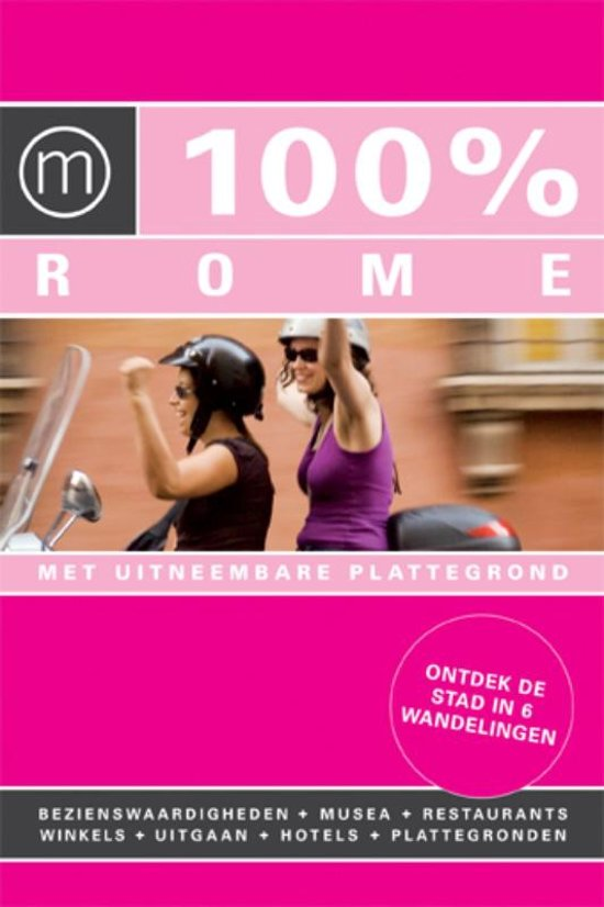 Boek cover 100% Rome van Irene de Vette (Paperback)