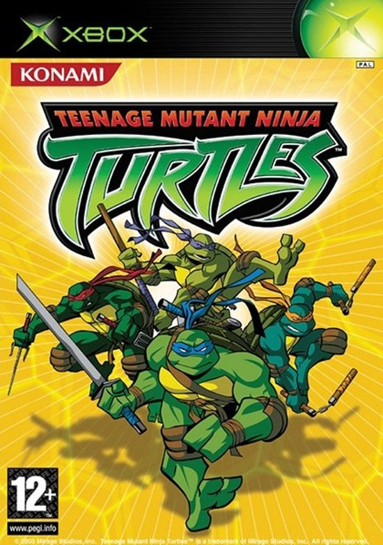 Bolcom Teenage Mutant Ninja Turtles Xbox Konami Games