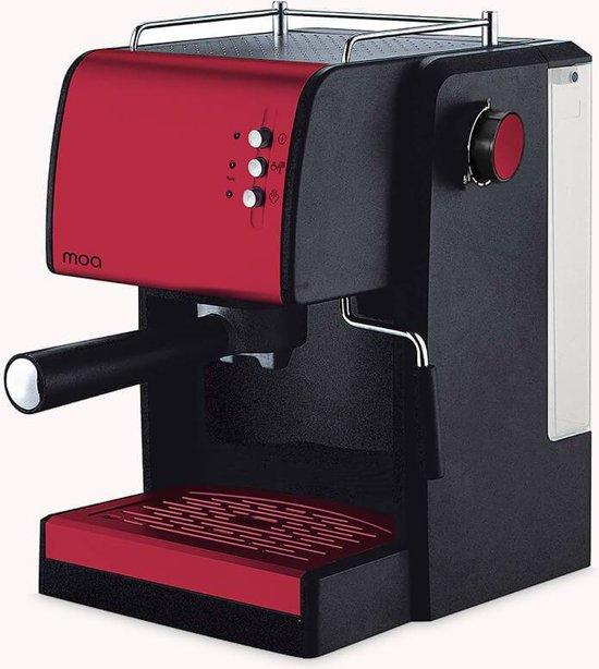 Moa Design Espresso machine Rood