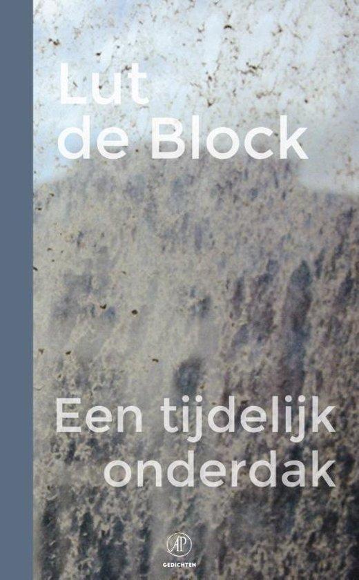 Boek cover Een tijdelijk onderdak van Lut de Block (Paperback)