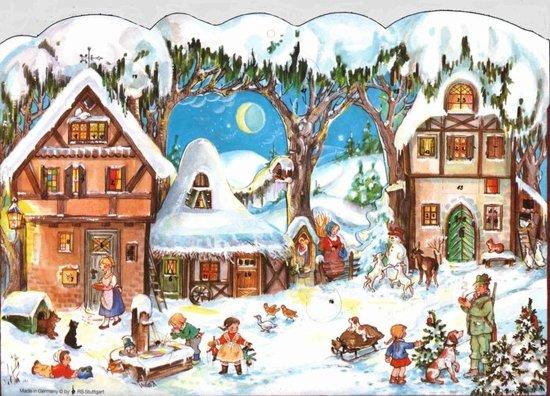 Adventskalender 49 Adventkalender 24 vakjes