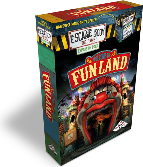 Identity Games Escape Room The Game: Welcome To Funland