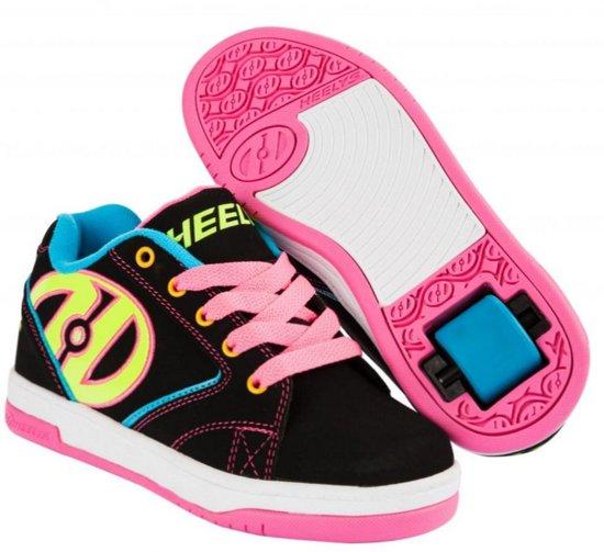 Heelys Rolschoenen Propel - Sneakers - Kinderen - Maat 33 - Zwart/Neon