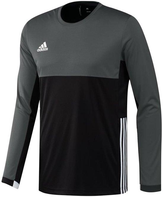 Zwart Xl T16 Climacool Maat Heren grijs Sportshirt Adidas BoWdCrex