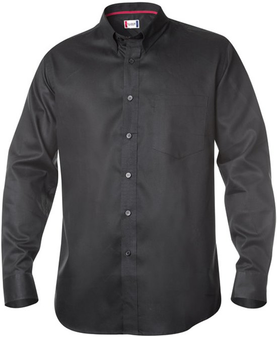 New Oxford Shirts zwart 3xl