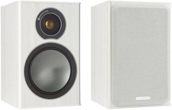 Monitor Audio Bronze 1 - Boekenplank Speaker - Wit (Prijs Per Paar)
