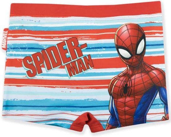 Spiderman Zwembroek.Bol Com Spiderman Zwembroek Maat 98 Streep Rood