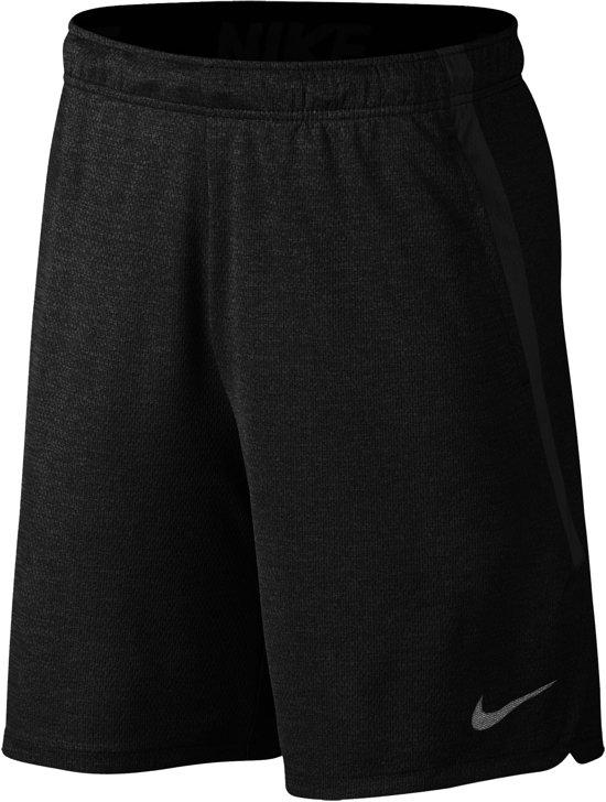 Nike Nike Dry Short Sportshort Heren - Black/Dark Grey