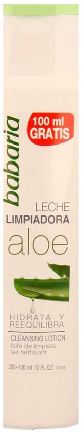 Indasec Babaria Aloe Vera Cleansing Lotion 200ml + 100ml Free