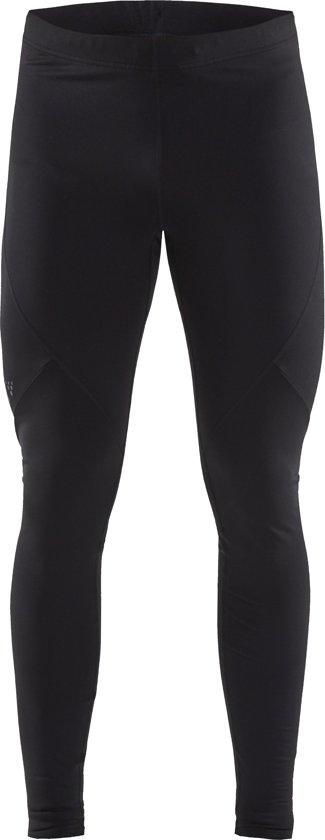 Craft Essential Warm Tights Heren Sportlegging - Black - S