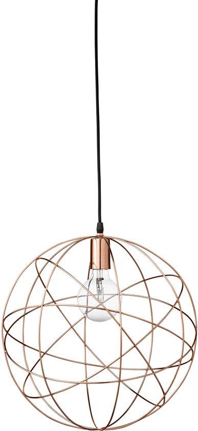 bol bloomingville hanglamp bol à 40 cm e27 koper