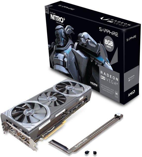 Sapphire 11275-03-40G videokaart Radeon RX Vega 64 8 GB High Bandwidth Memory (HBM)