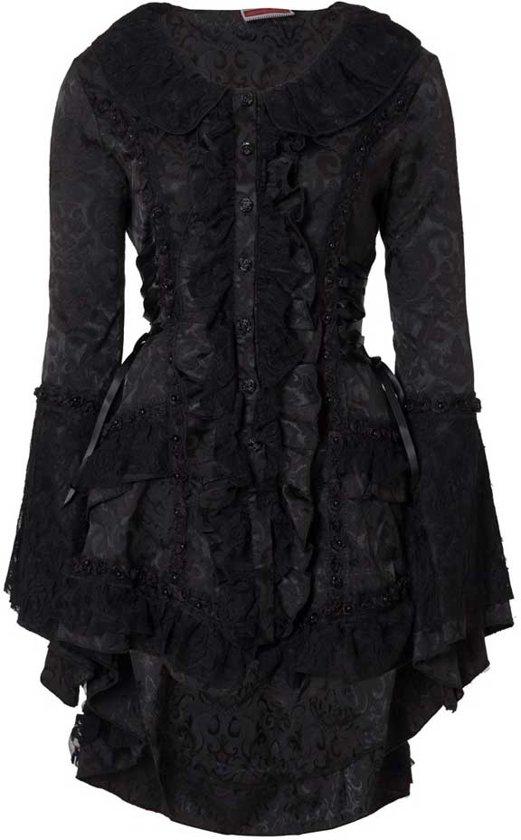 dames jas zwart
