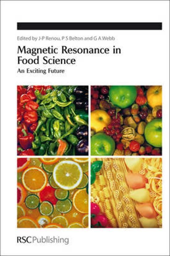 bol com | Magnetic Resonance in Food Science | 9781849732338