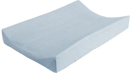 Jollein - Aankleedkussenhoes badstof 50 x 70 cm - Lichtblauw