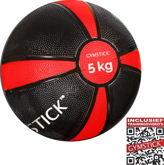Gymstick Medicine bal - 5 kg - Met trainingsvideo's