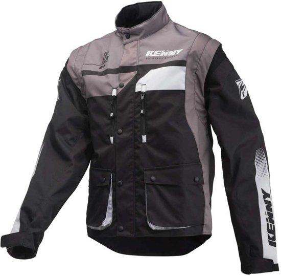 Enduro Jacket grey Black m Kenny Track Kc3TF1lJ