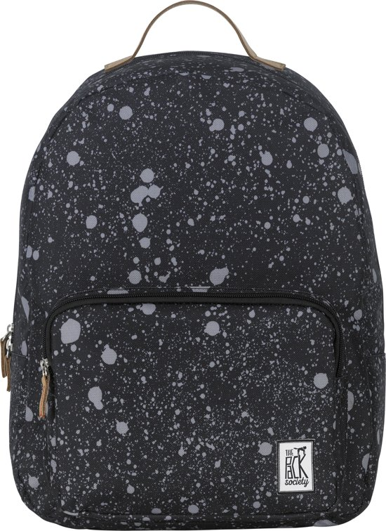 The Pack Society Classic Rugzak - Black Spatters