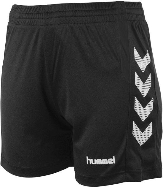 hummel Aarhus Short Ladies Sportbroek Kinderen - Zwart;Wit