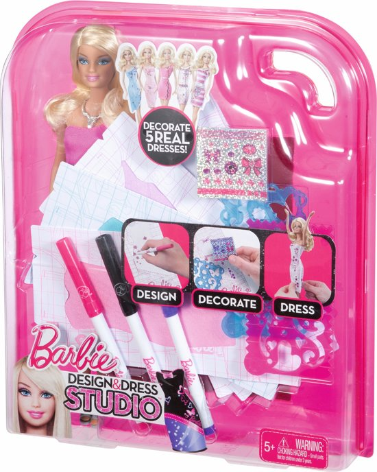 Barbie Mode Designer met Pop