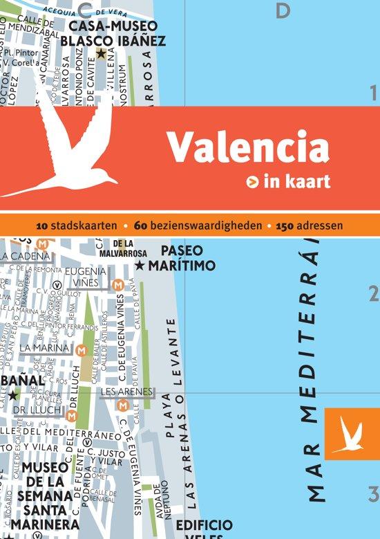Dominicus stad-in-kaart - Valencia in kaart