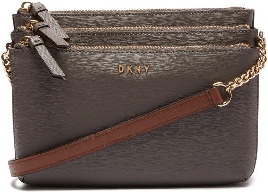 035bf419fc4 bol.com | DKNY Bryant Triple Zip Crossbody Tas R74E3013-GYN